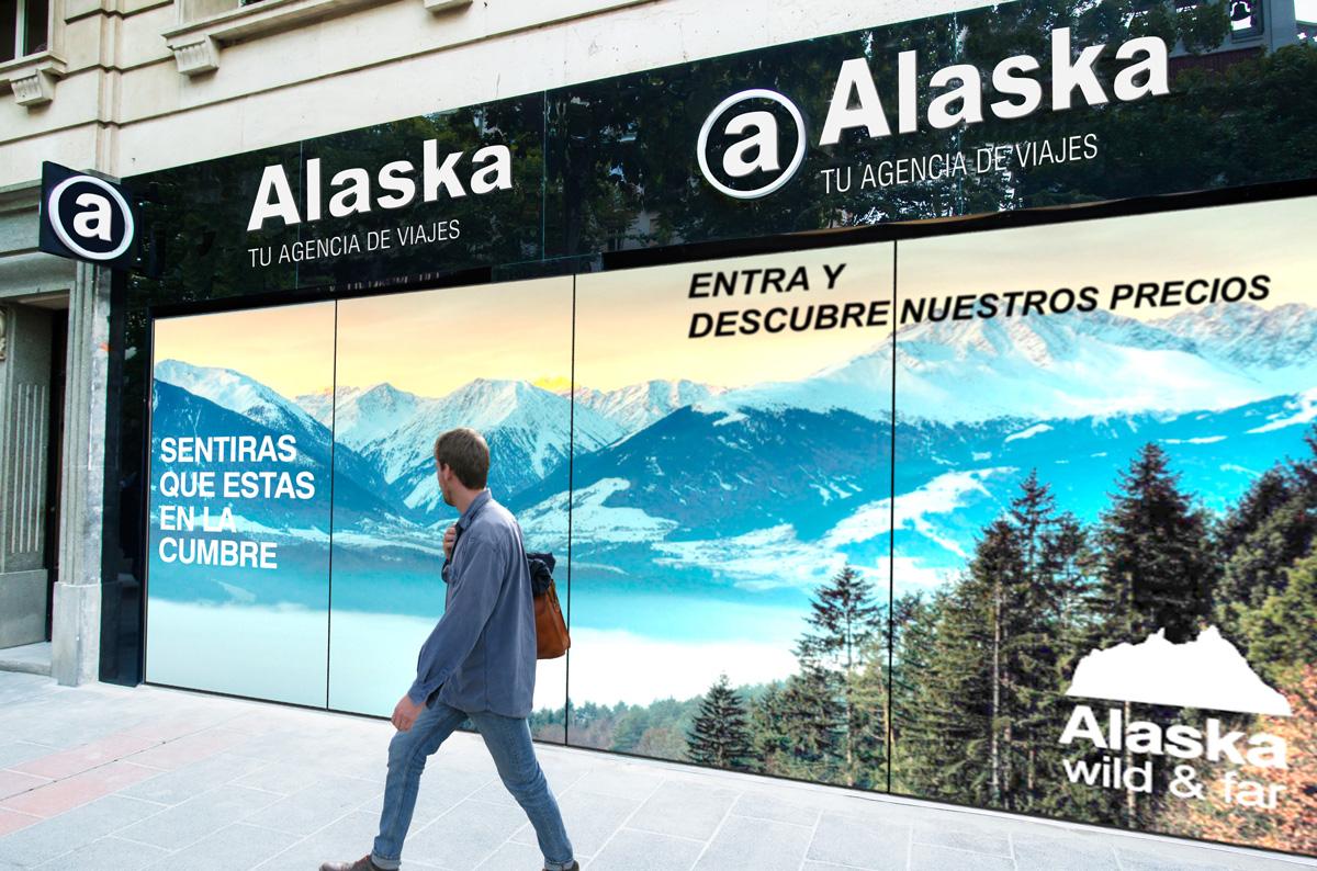 Toda la fachada de tu agencia, para mostrar todo tipos de impactos publicitarios
